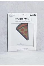 IDecoz Pizza Sequin Sticker Patch