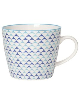Danica/Now Blue Triangles Mug