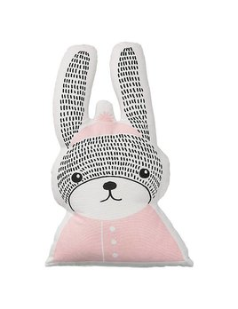 Design Home Coussin Lapin Rose