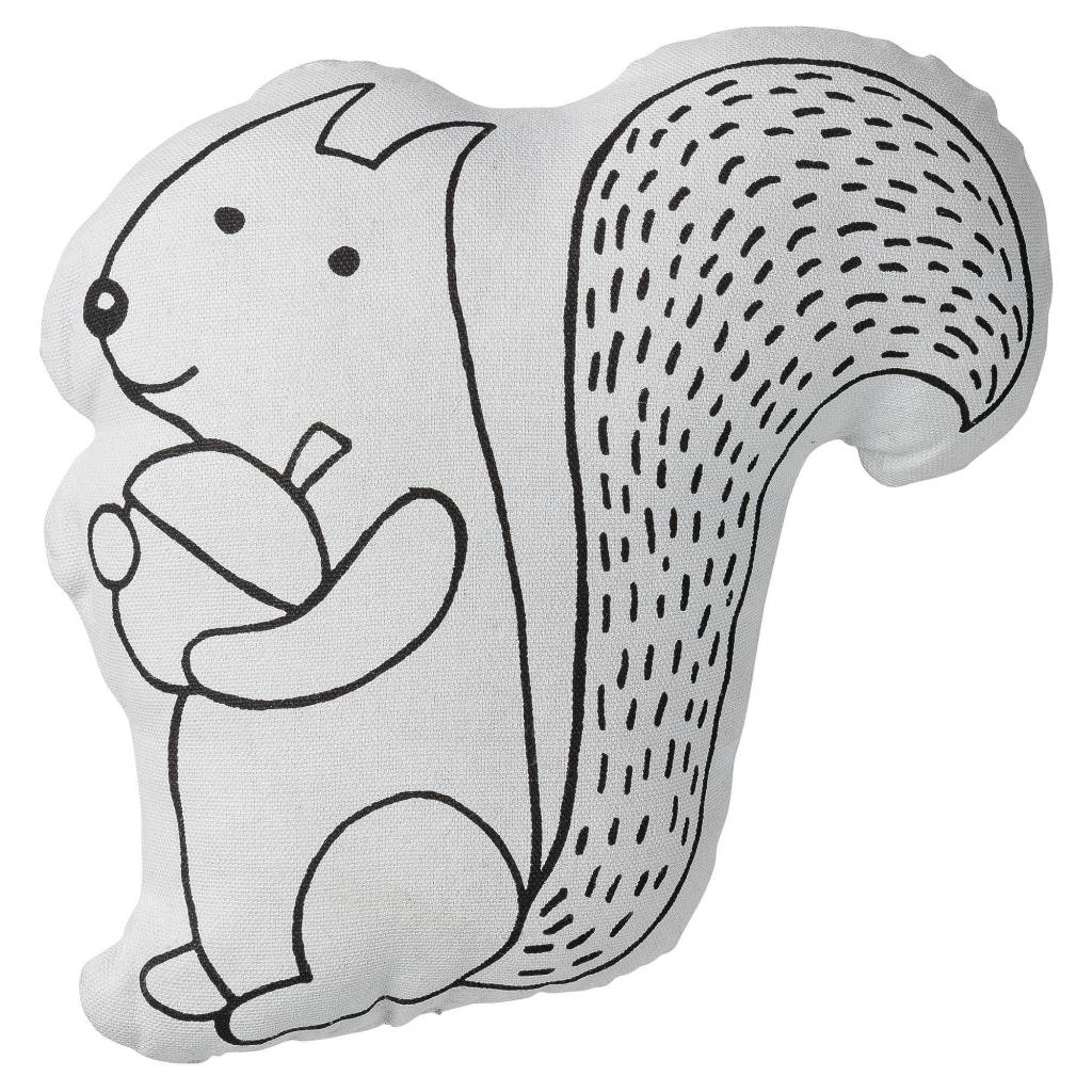 Design Home Squirrel Pillow