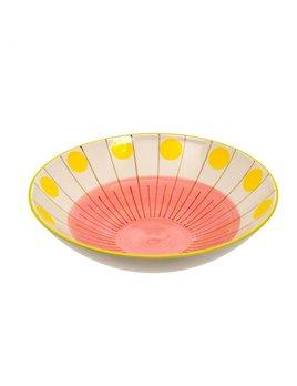 Indaba Bianca Shallow Bowl