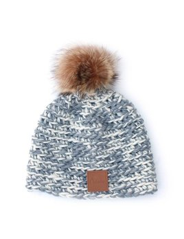Gibou Raccoon Tanuki Polar Lining Toque - color choices