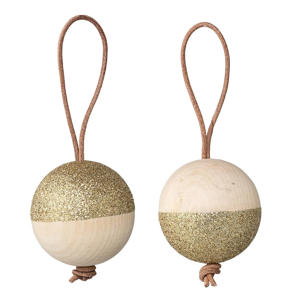 Bloomingville Gold Glitters Ornament