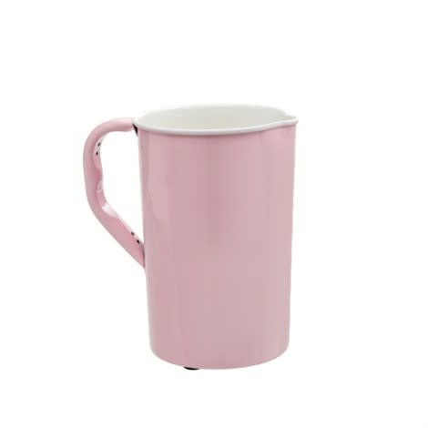 Indaba Pink Enamel Pitcher