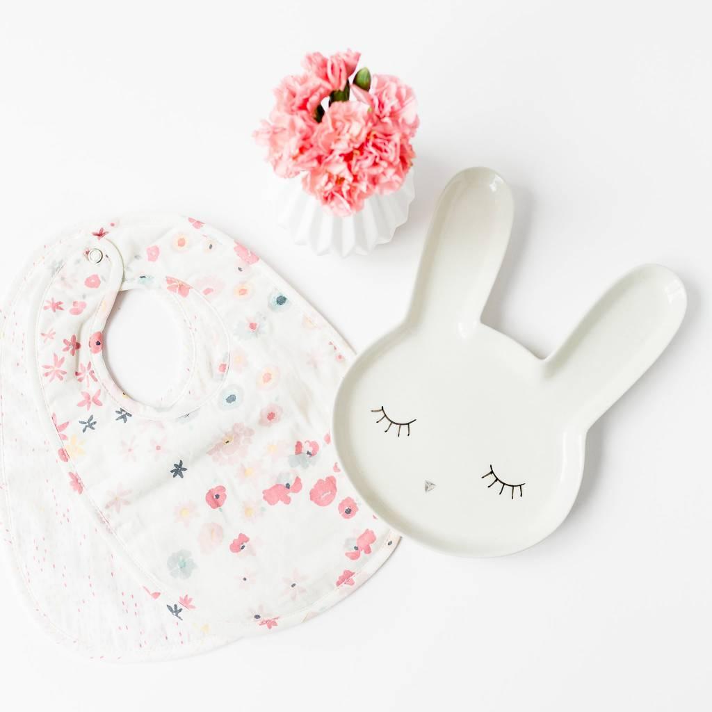 Design Home White Rabbit Plate