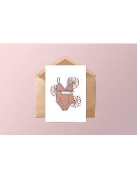 Fleur Maison Lingerie & Flowers Card