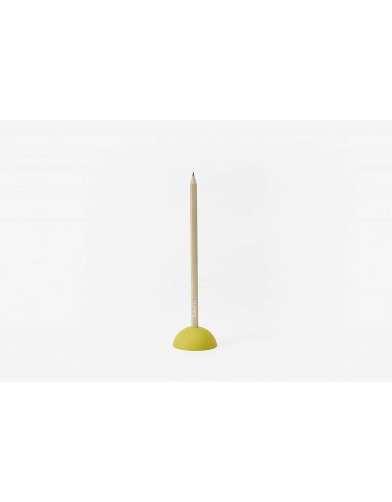 The Tate Group Yellow Eraser Pencil Stand
