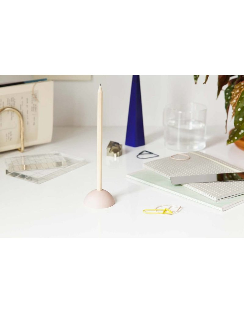 The Tate Group Pink Eraser Pencil Stand