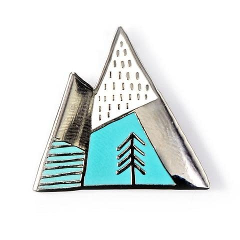 The Tate Group Mountains Pin