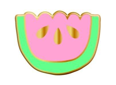 The Tate Group Broche Melon d'Eau Juteux