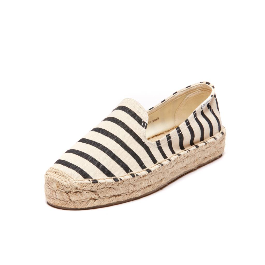 Soludos Striped Slippers