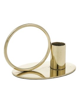 Eightmood Gold Circular Candlestick