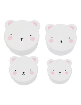 Little Lovely Pink Bear Snack Boxes