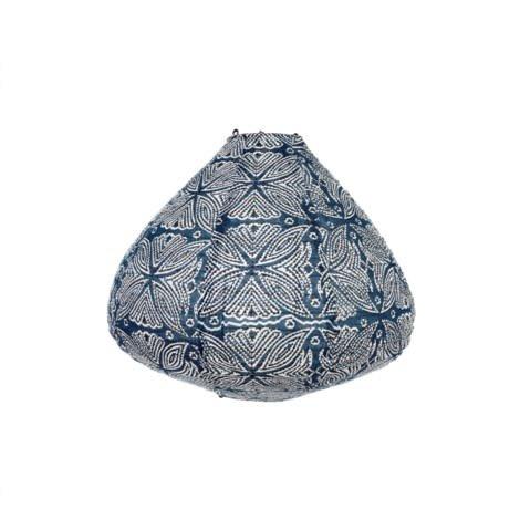 Indaba Abat-Jour Coton Azul