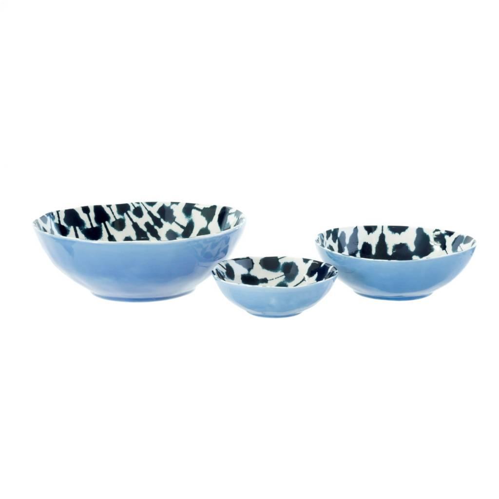 Indaba Medium Dark Shibori Bowl