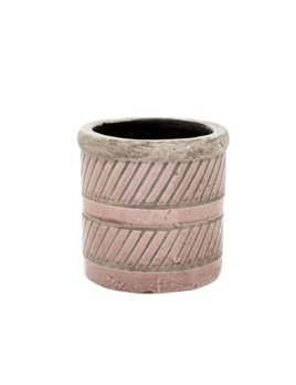 Indaba Coral Prairie Pot