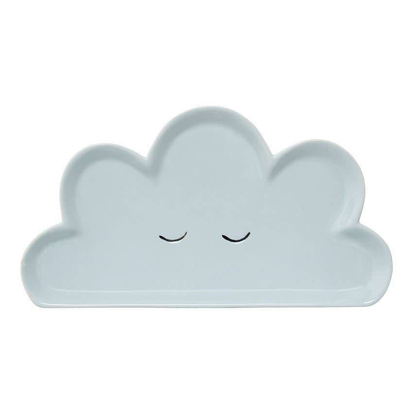 Bloomingville Blue Cloud Plate