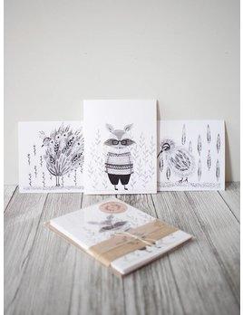 Natasha Prévost Illustrations Animals Greeting Cards