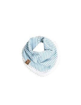 Bajoue Foulard Rayures Bleues