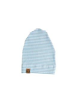 Bajoue Grand Bonnet Rayures Bleues