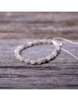 Si Simple Moon Bracelet