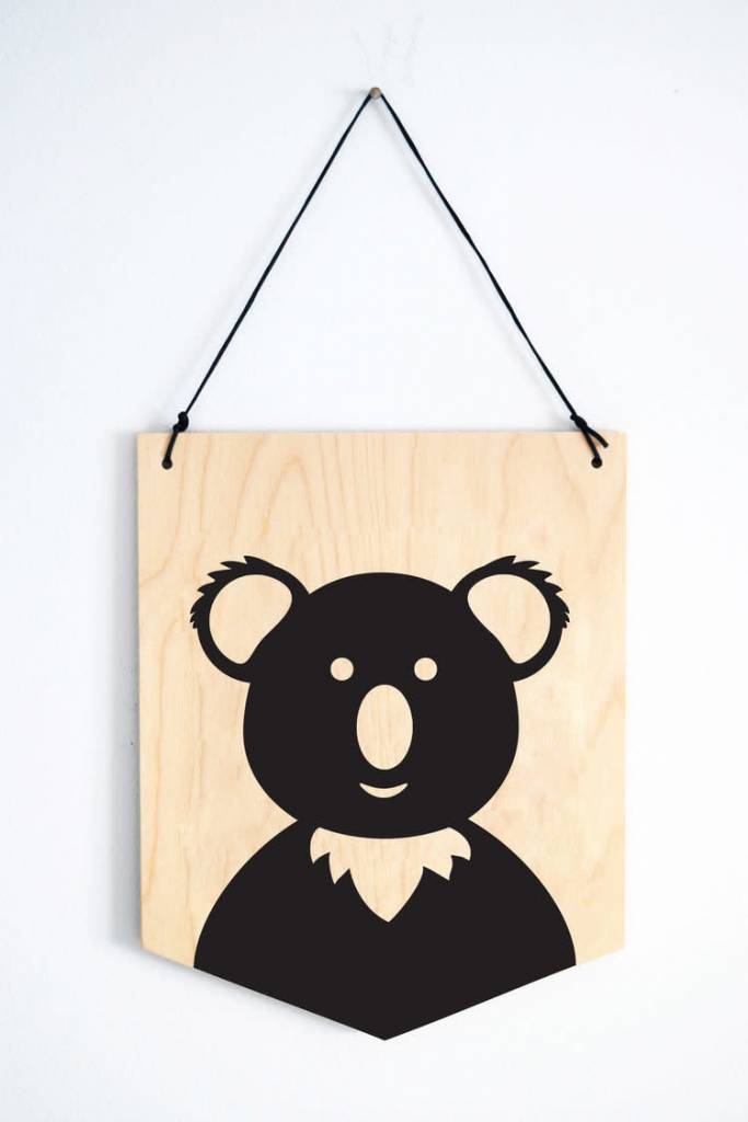 Abricotine Koala Wall Decoration