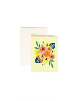 Paige and Willow Carte Fleurs Tropicales