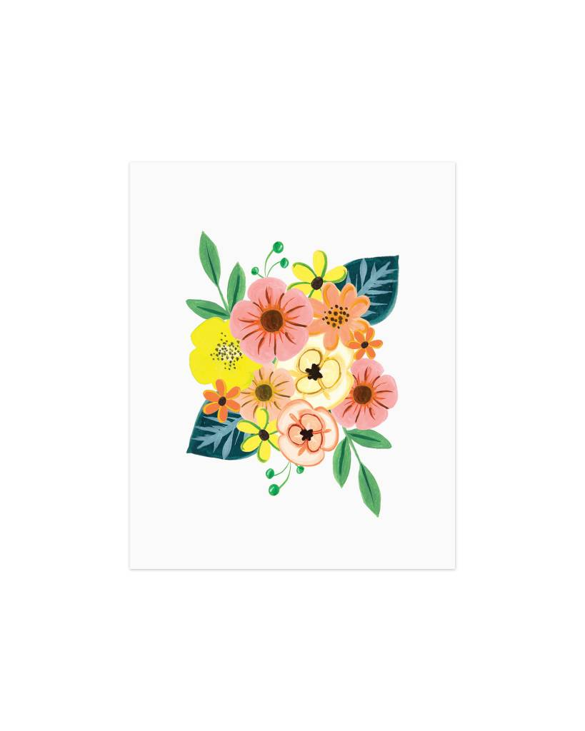 Paige and Willow Tropical Flowers Print