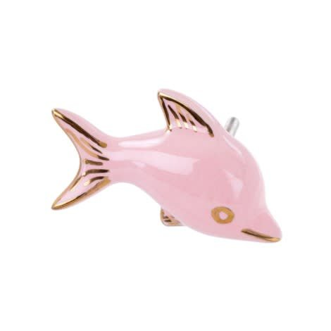 Indaba Pink Fish Knob