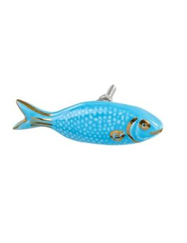 Indaba Blue Fish Knob
