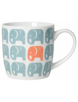 Danica/Now Tasse Éléphants Bleus