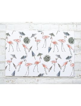 Maison Lorrain Party Animals Paper Placemats Pad