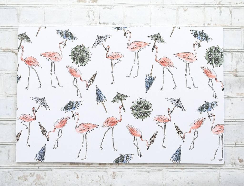 Maison Lorrain Party Animals Paper Placemats Pad
