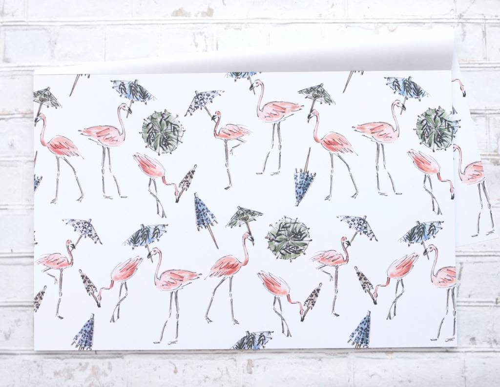 Maison Lorrain Cahier de Napperons Papier Party Animals