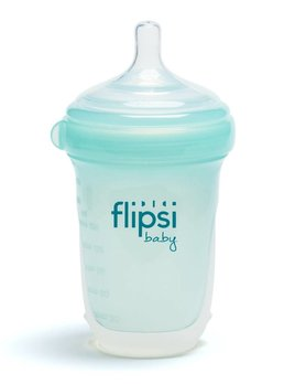 Baby-Vac Bouteille Flipsi Silicone Sarcelle