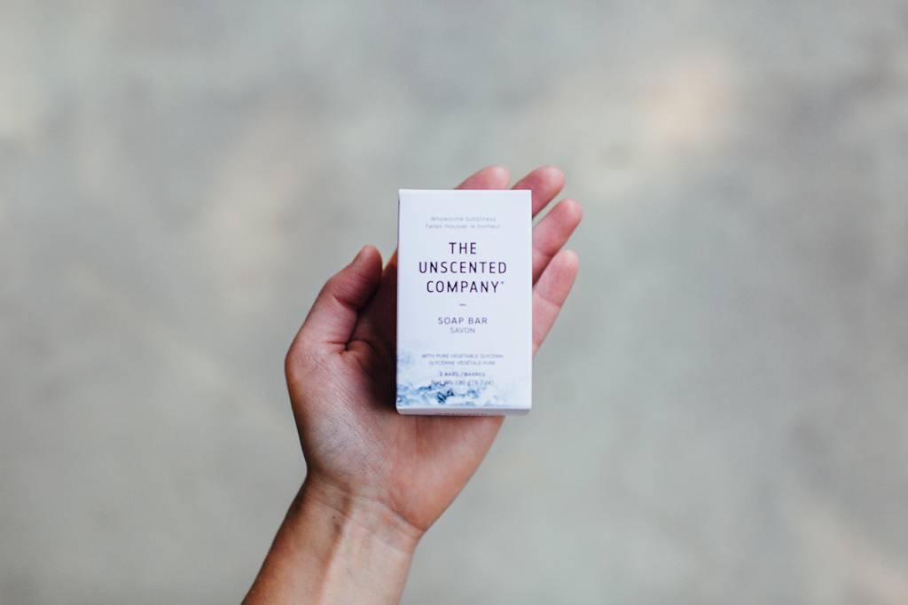 The Unscented Company Paquet de 2 Savons Sans Fragrance