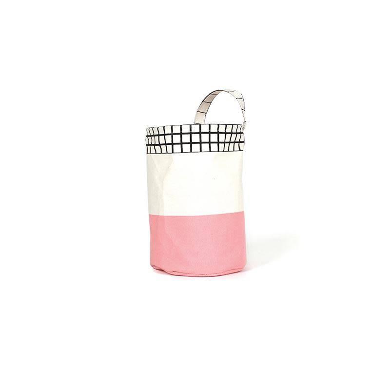 Gautier Studio Pink Round Ole Basket