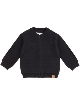 Petit Lem Black Knit Jacket