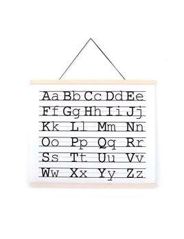 Gautier Studio Alphabet Poster