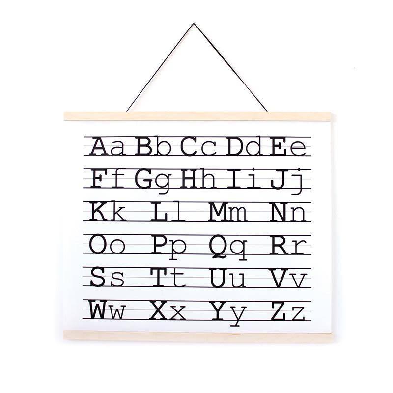 Gautier Studio Affiche Alphabet