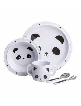 Little Lovely Panda Dinner Set
