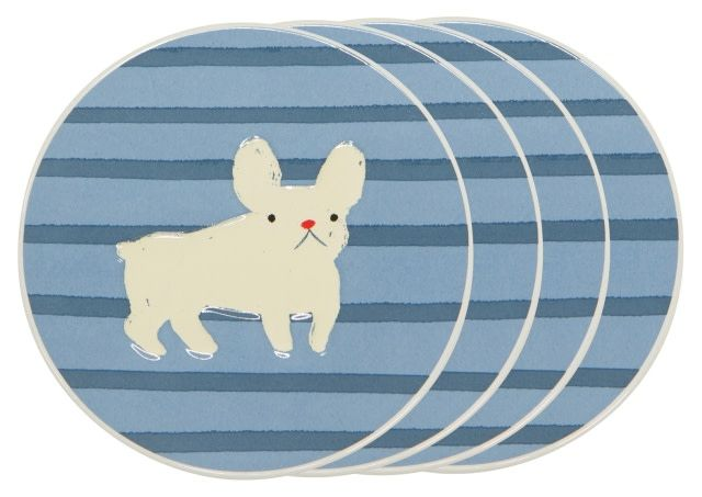 Danica/Now Frenchie Coasters