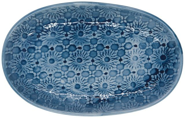 Danica/Now Navy Oval Plate