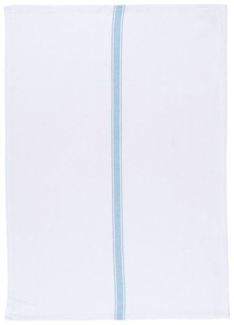 Danica/Now Linge à Vaisselle Rayé Turquoise