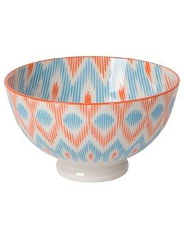 Danica/Now Orange Ikat Bowl