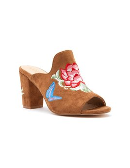 Matisse Frill Tan Heels