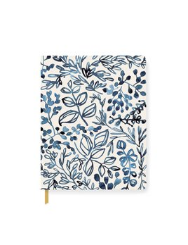 Fringe Studio Indigo Leaf Notebook