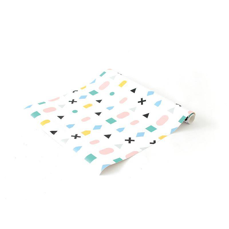 A D ZIF Papier Peint Multicolor