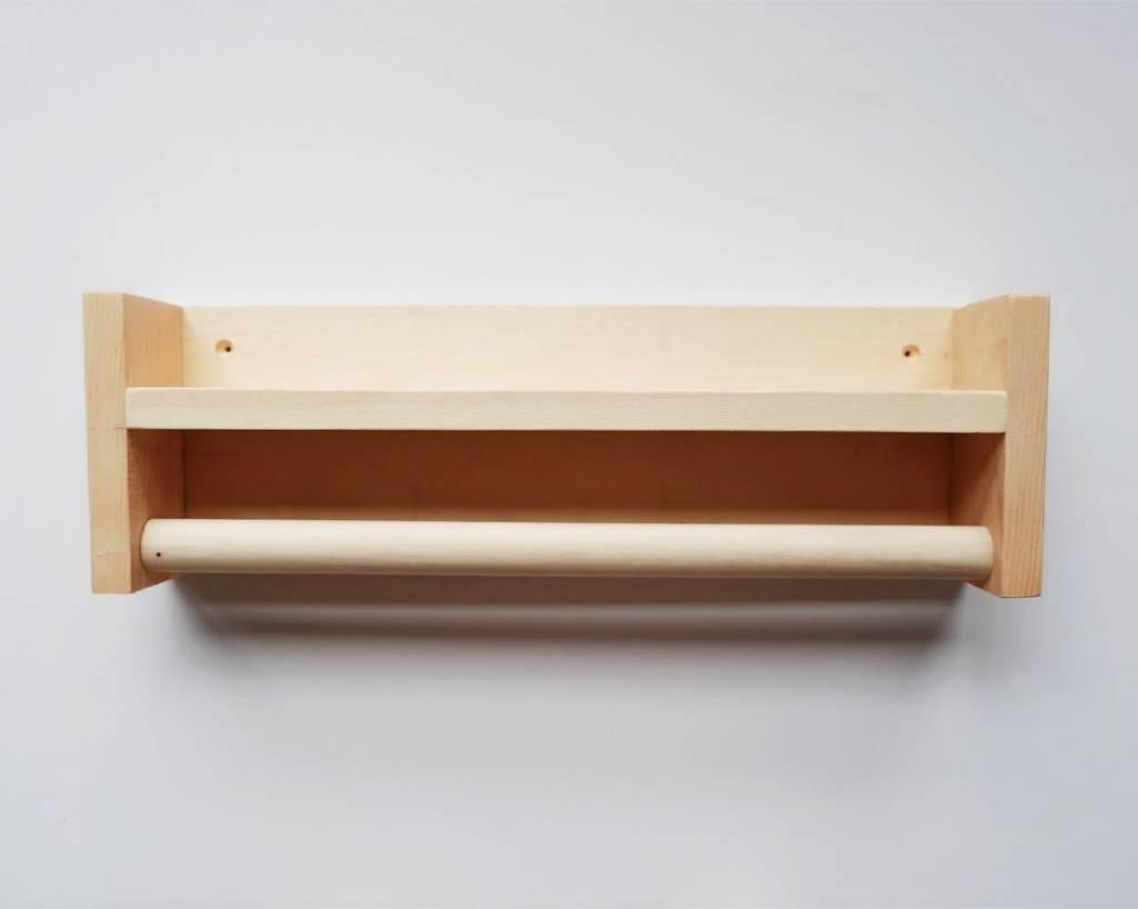 Minika Wood Shelf - Accessory Choices