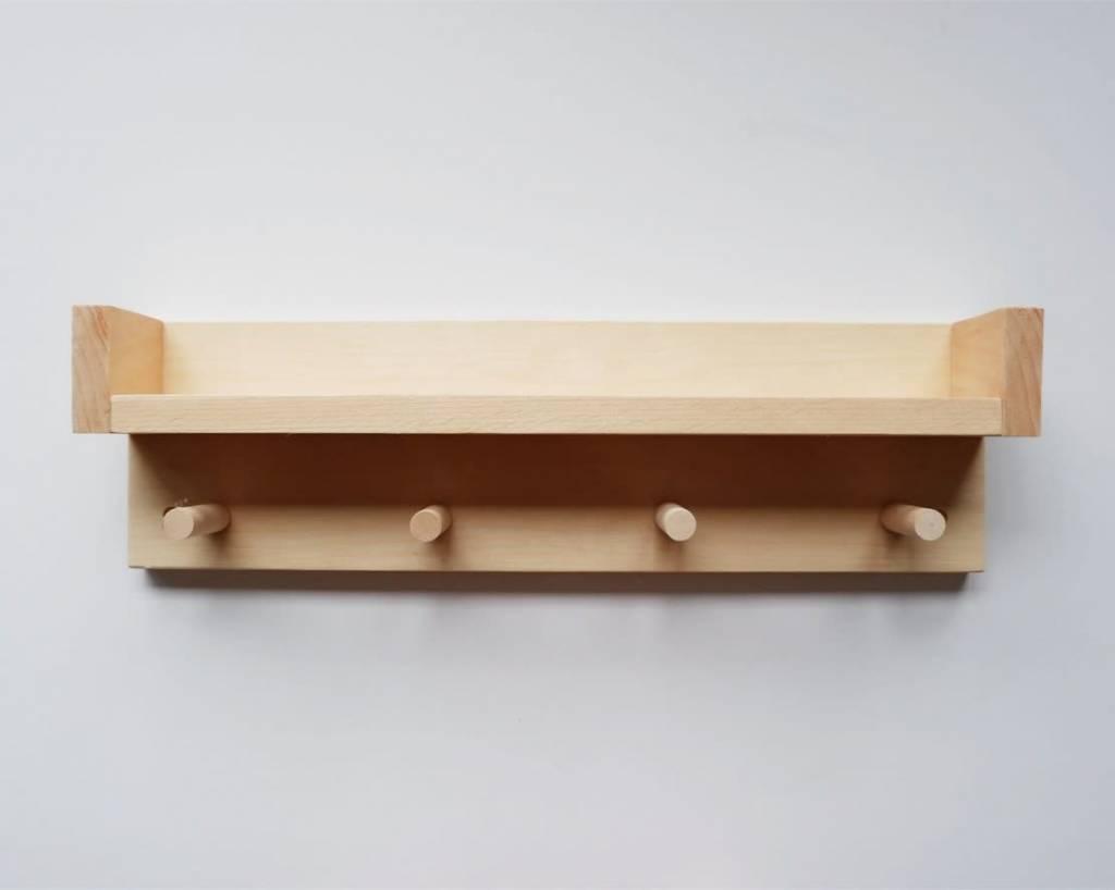 Minika Étagère en Bois - Choix Accessoires